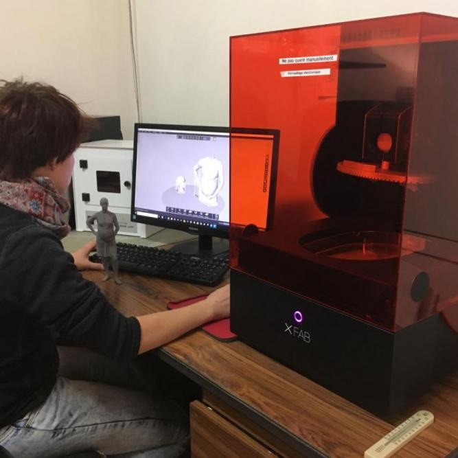 Impression 3D laser