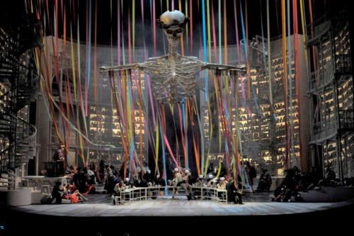 Squelette faust opera de paris