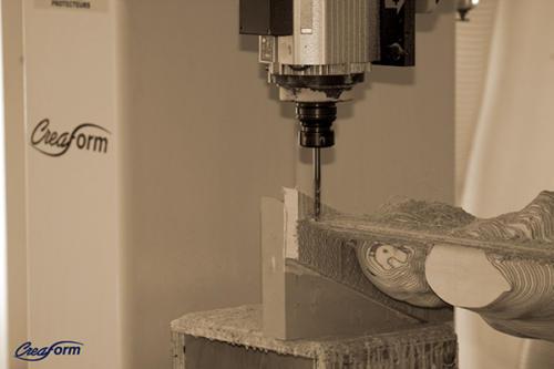 creaform sculpture agrandissement fraisage bois