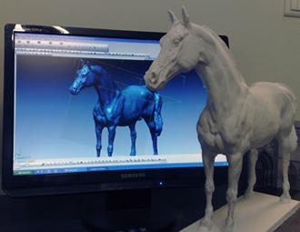 numerisation cheval
